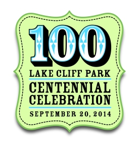 Lake Cliff 100 logo